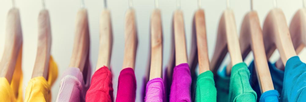 Decluttered coat hangers